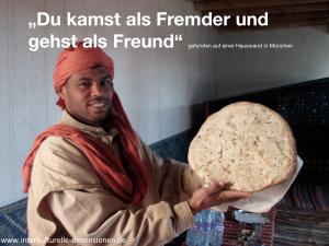 Freund, Fremd, Interkulturelle Dimensionen
